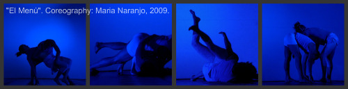 Dance Composition, El Menú by Maria Naranjo 2009