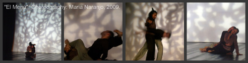 Dance composition example. Choreography by Maria Naranjo, 2009