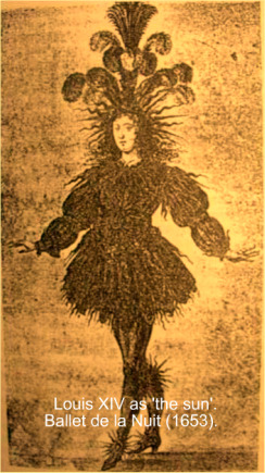 Louis XIV in the character of the sun