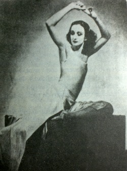 "Doris Humphrey in ""Theater Piece"""