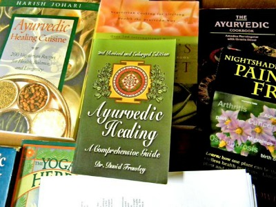 Ayurvedic cooking books