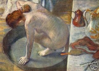 """The Tub"" by E. Degas (1886)"