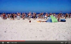 Flashmob at the beach, The era of Flashmobs