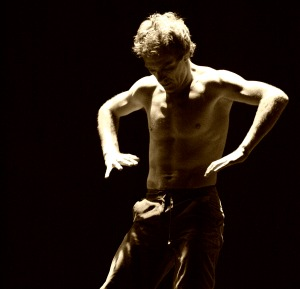 Dance Improvisation: Dominik Borucki on stage
