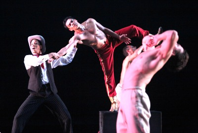 The Limón Dance Company: Daniel Fetecua and other dancers