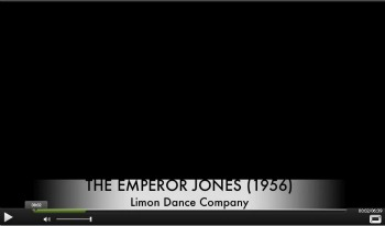 The Limón Dance Company: Emperor Jones Video