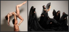 La casa de Bernarda Alba, in what does a contemporary dance choreographer expect?
