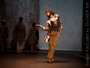 Dance Pictures: Dario Vaccaro in Wall Stories