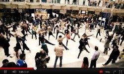 Flash Mob The T-mobile dance, The era of Flash Mobs